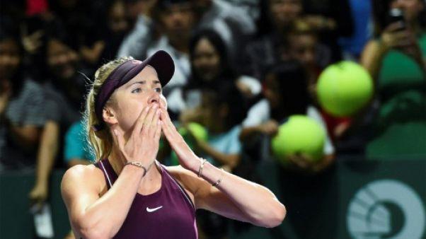 Masters dames: Svitolina et Pliskova en demi-finales, Wozniacki détrônée
