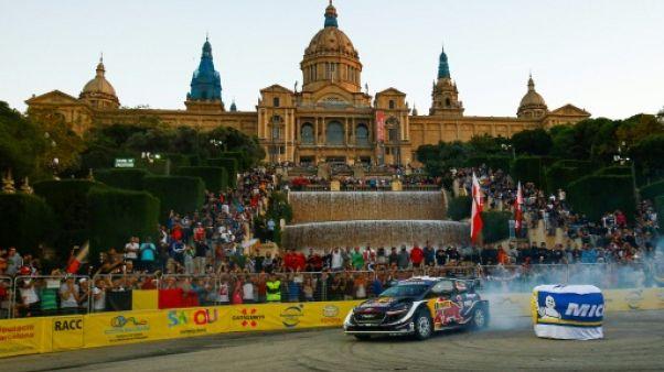 Rallye de Catalogne: Ogier débute en tête