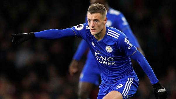 Leicester striker Vardy a doubt for West Ham match