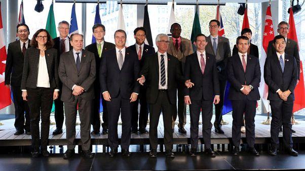 أعضاء في منظمة التجارة العالمية يحثون على إصلاحات عاجلة في مواجهة إجراءات أمريكية