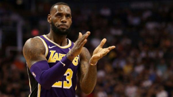 NBA: un premier trophée pour LeBron James