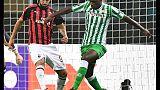 Europa League: Milan-Betis 1-2
