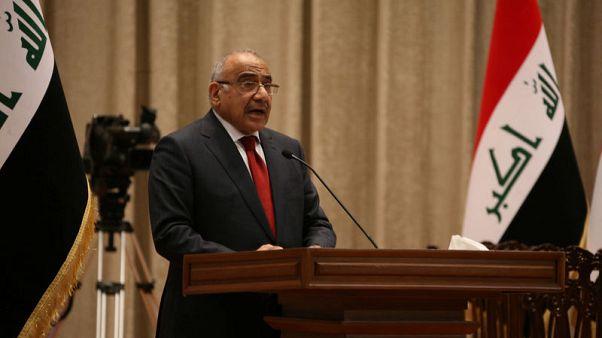 الصراع بين الكتل السياسية أول عقبة في طريق رئيس الوزراء العراقي الجديد