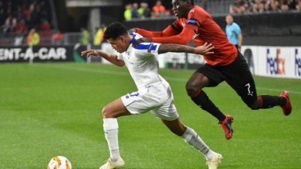 Ligue Europa: Rennes cède en toute fin de match contre Kiev