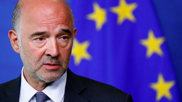 EU's Moscovici says no contagion from Italy's woes at this stage