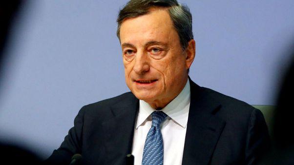 ECB's Draghi alarm over Italian banks 'improper' - League lawmaker