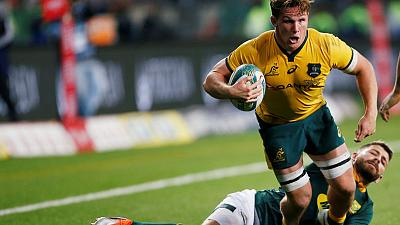 Hooper sees Bledisloe test as chance for Wallabies to build