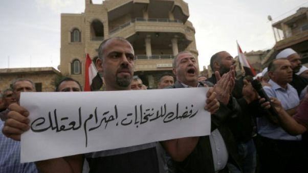 Voter ou non avec les Israéliens, le dilemme des druzes du Golan occupé