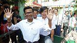 Myanmar court frees journalists on bail in incitement case