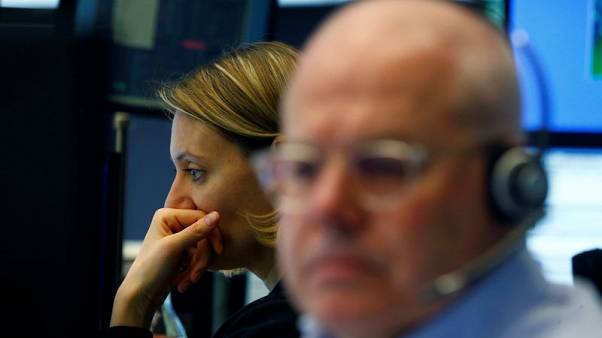 European stocks sink as tech gloom spreads, Valeo plunges