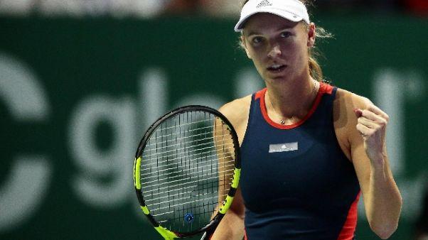 "Tennis, Wozniacki ""soffro di artrite"""