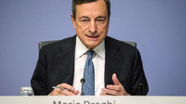 Bagnai,improprie parole Draghi su banche