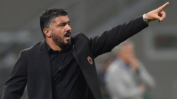 Gattuso rages after Milan's 'embarrassing' Europa performance