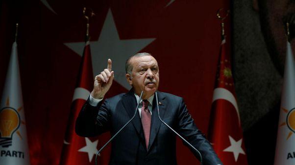 أردوغان يقول إنه يعلم بنقص السيولة في السوق التركية ويتخذ خطوات لحل المشكلة