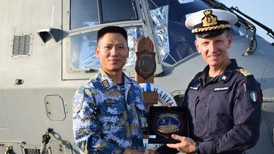 "MARTINENGO MILESTONES: ""Two months of counter-piracy operations"""