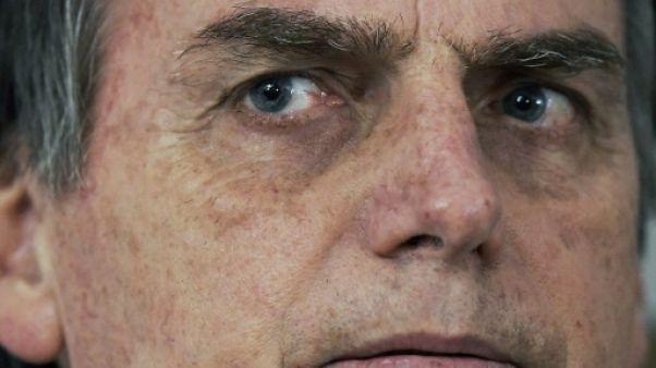 Le candidat brésilien Jair Bolsonaro à Rio de Janeiro, le 25 octobre 2018