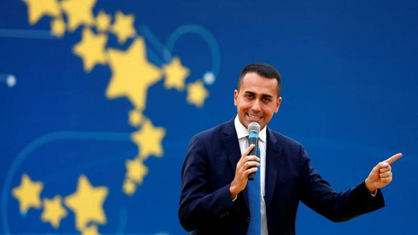 Italy's Di Maio says ECB's Draghi poisoning atmosphere - news agency