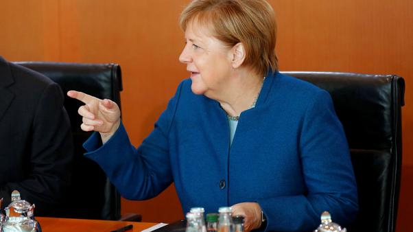 Merkel says Europe wants orderly Brexit solution, not debating other options