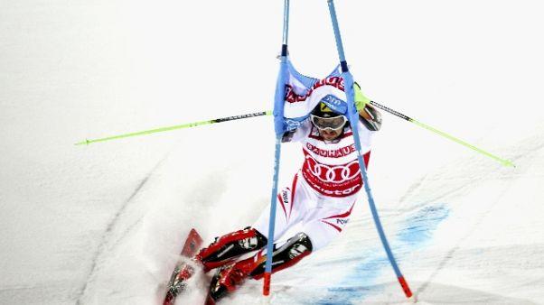 Sci: Hirscher è ancora 'sciatore d'oro'