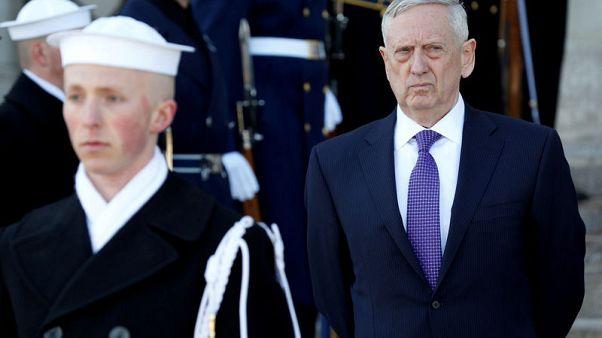 ماتيس سيشدد على التزام أمريكا بأمن الشرق الأوسط وسط توتر بسبب قضية خاشقجي