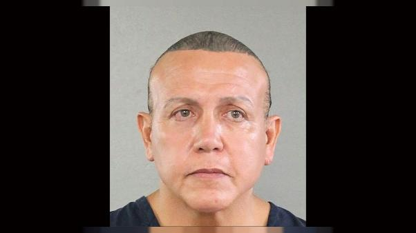 Le suspect Cesar Sayoc (photo Broward County Sheriff's Office)