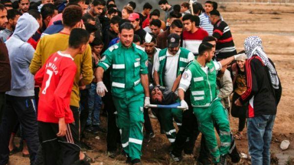 Gaza: 5 Palestiniens tués lors de heurts avec des soldats israéliens (ministère à Gaza)
