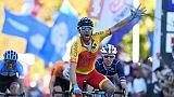 Cyclisme: le Vélo d'or mondial 2018 à Valverde