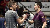 Tennis: Nishikori bat Thiem et passe en demi-finales à Vienne
