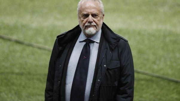 Ancelotti,De Laurentiis schietto e leale