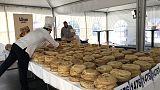 Flipping marvellous: Balkan chefs break pancake record
