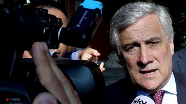 Tajani, attacchi a Draghi gravi