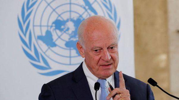 دي ميستورا: سوريا لا تريد دورا للأمم المتحدة في تشكيل اللجنة الدستورية