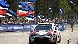 Rallying - Tanak leads after first day in Spain
