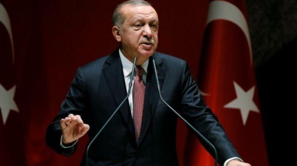 Le président turc Recep Tayyip Erdogan à Ankara, le 26 octobre 2018