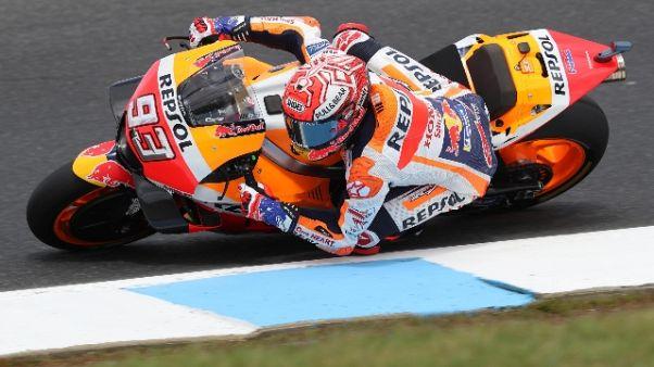 MotoGp: Australia, la pole è di Marquez