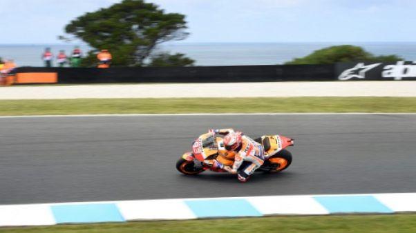 MotoGP: Marquez reprend les commandes lors des essais libres 3 du GP d'Australie