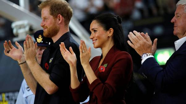Prince Harry and Meghan attend final day of Invictus Games in Sydney