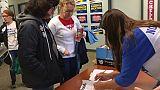 """Elections américaines: les """"Moms"""" mobilisées contre les armes"""