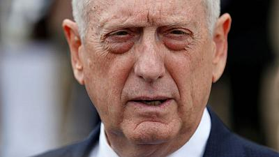 Mattis says in close contact with European allies on INF treaty
