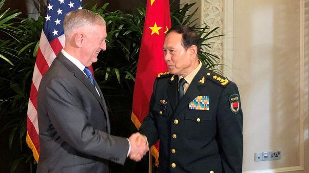 Chinese defence minister to visit Washington next week - Mattis