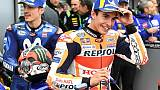"""MotoGP: Marquez encore en """"pole"""", en passant entre les gouttes au GP d'Australie"""