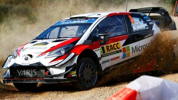 Rallye de Catalogne: l'ES8 annulée en raison du mauvais placement de spectateurs