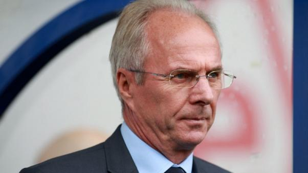Former England boss Eriksson to take charge in Philippines