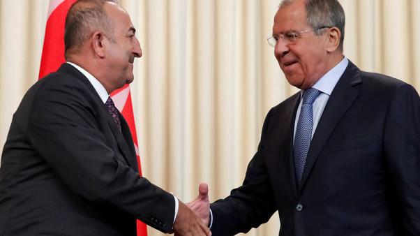 Turkish foreign minister met Russian counterpart ahead of Syria summit - CNN Turk