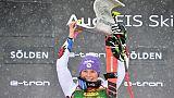 Ski: débuts parfaits pour Tessa Worley à Sölden