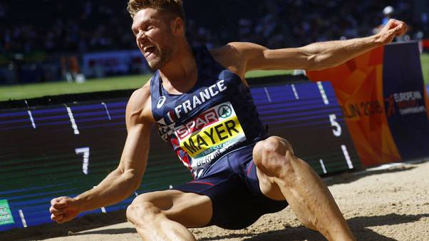 Mayer and Asher-Smith crowned European athletes of the year