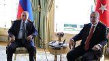 الكرملين: بوتين تحدث مع أردوغان قبل محادثات بشأن سوريا
