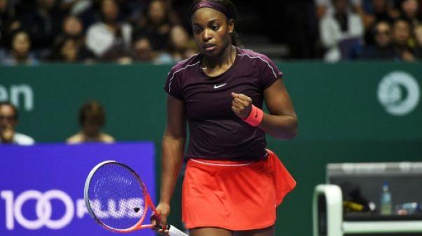 Masters de Singapour: Stephens en finale après une entame cauchemardesque