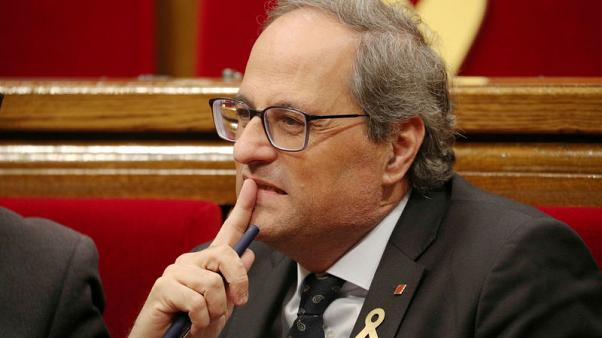 Catalan leader defiant a year after failed independence declaration