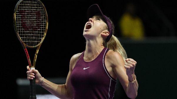 Wta Masters: finale Svitolina-Stephens